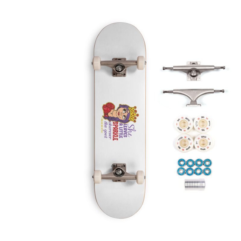 Princess Dash Accessories Complete - Premium Skateboard by Moon Joggers's Artist Shop