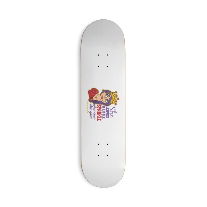 Princess Dash Accessories Deck Only Skateboard by Moon Joggers's Artist Shop