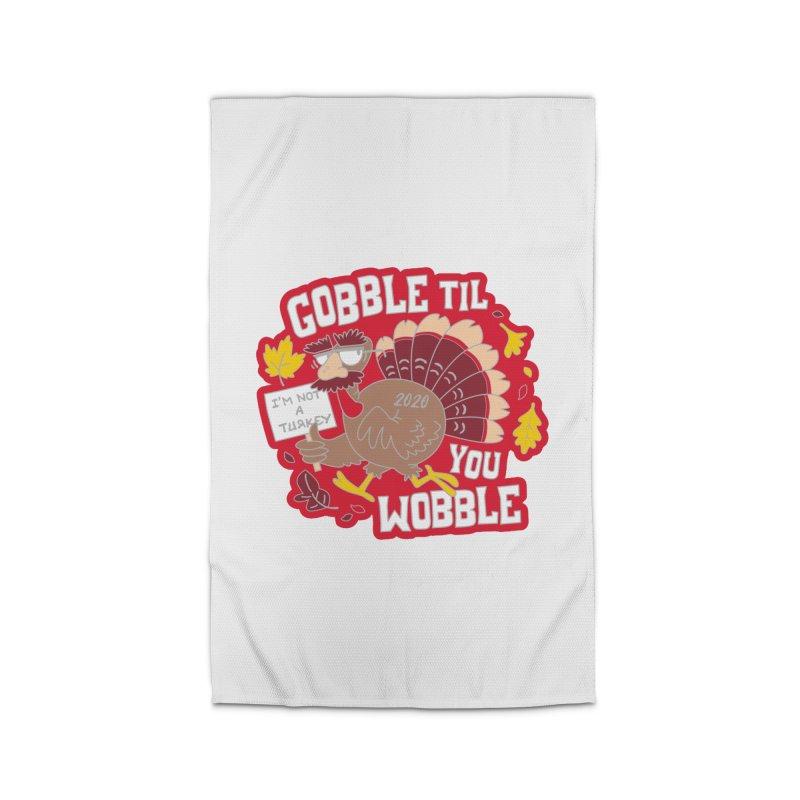Gobble Til You Wobble Home Rug by Moon Joggers's Artist Shop