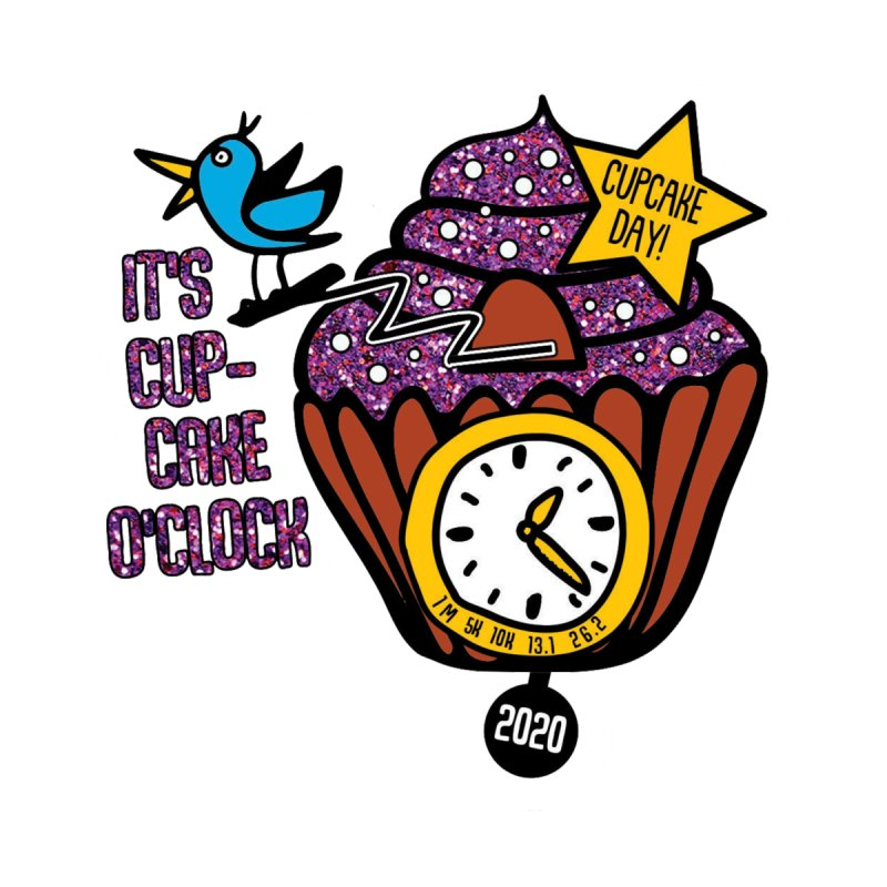 Cupcake O'Clock Men's T-Shirt by Moon Joggers's Artist Shop