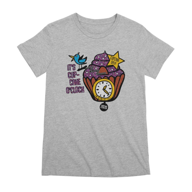 Cupcake O'Clock Women's Premium T-Shirt by Moon Joggers's Artist Shop