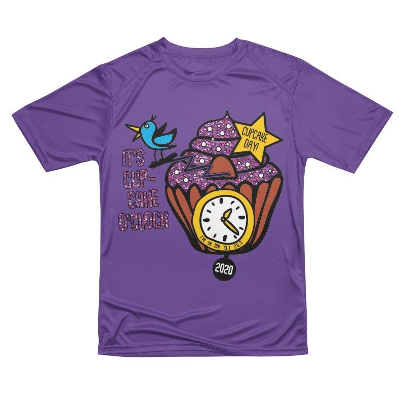 Cupcake O'Clock Women's Performance Unisex T-Shirt by Moon Joggers's Artist Shop