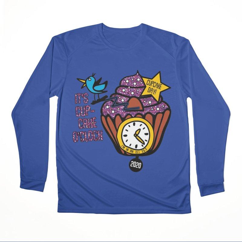 Cupcake O'Clock Women's Performance Unisex Longsleeve T-Shirt by Moon Joggers's Artist Shop