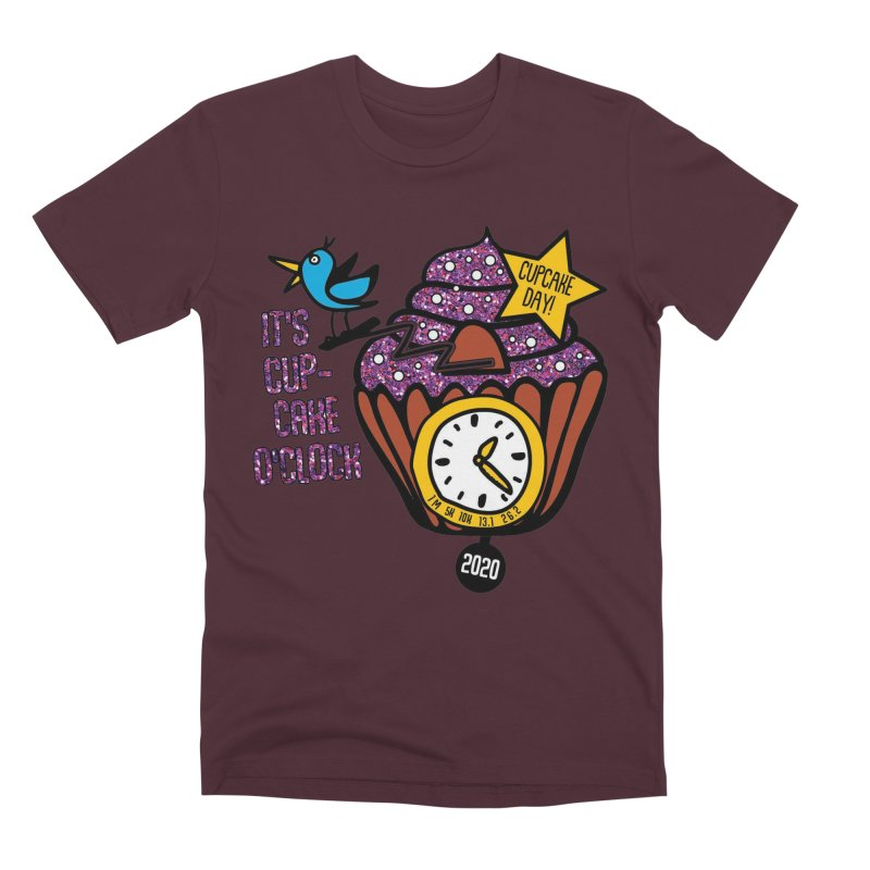 Cupcake O'Clock Men's Premium T-Shirt by Moon Joggers's Artist Shop