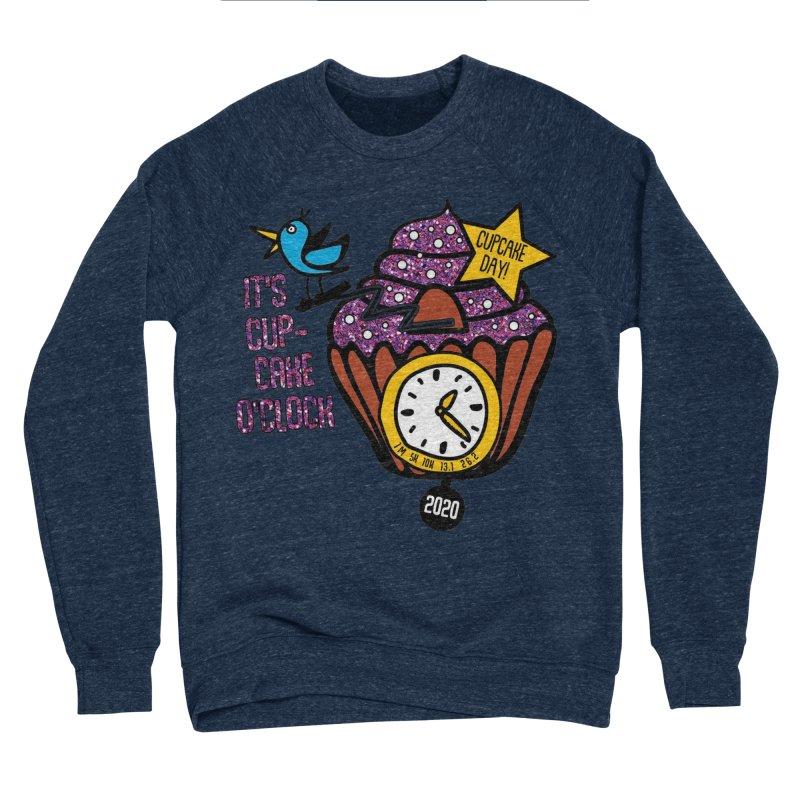 Cupcake O'Clock Men's Sponge Fleece Sweatshirt by Moon Joggers's Artist Shop