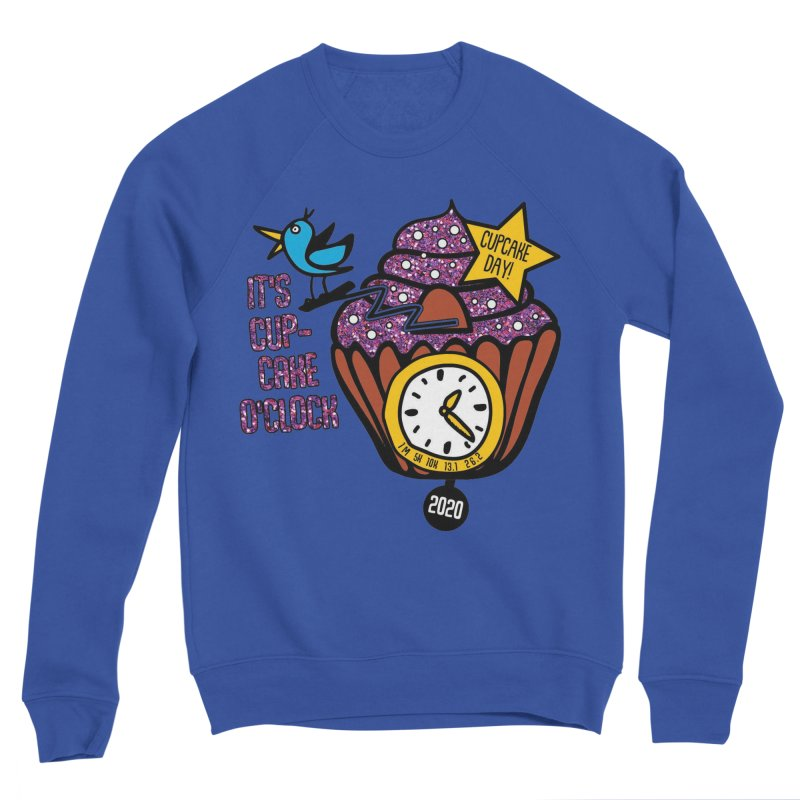 Cupcake O'Clock Women's Sponge Fleece Sweatshirt by Moon Joggers's Artist Shop