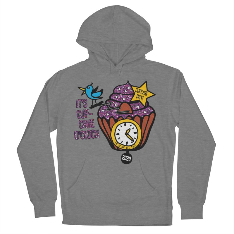 Cupcake O'Clock Women's French Terry Pullover Hoody by Moon Joggers's Artist Shop