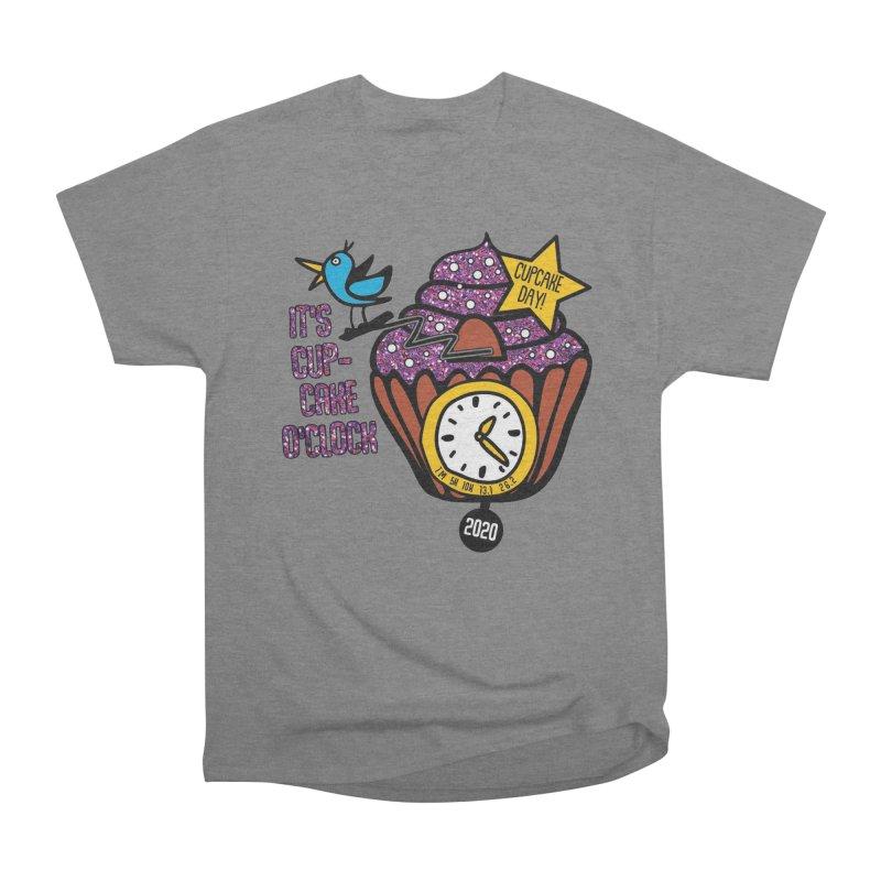 Cupcake O'Clock Men's Heavyweight T-Shirt by Moon Joggers's Artist Shop
