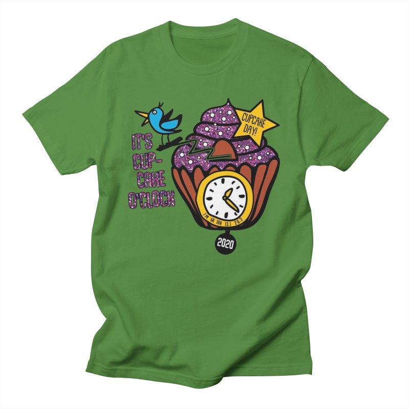 Cupcake O'Clock Men's T-Shirt by Moon Joggers's Artist Shop