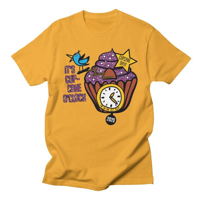 Cupcake O'Clock Women's Regular Unisex T-Shirt by Moon Joggers's Artist Shop