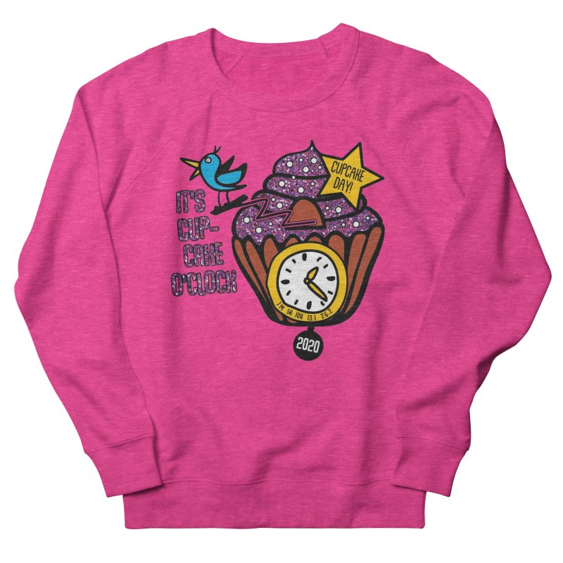 Cupcake O'Clock Men's French Terry Sweatshirt by Moon Joggers's Artist Shop