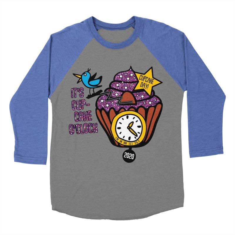 Cupcake O'Clock Women's Baseball Triblend Longsleeve T-Shirt by Moon Joggers's Artist Shop
