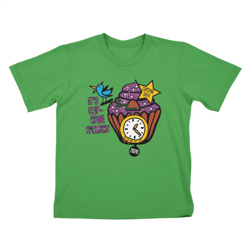 Cupcake O'Clock Kids T-Shirt by Moon Joggers's Artist Shop
