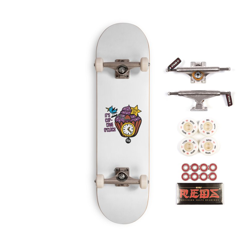 Cupcake O'Clock Accessories Complete - Pro Skateboard by Moon Joggers's Artist Shop