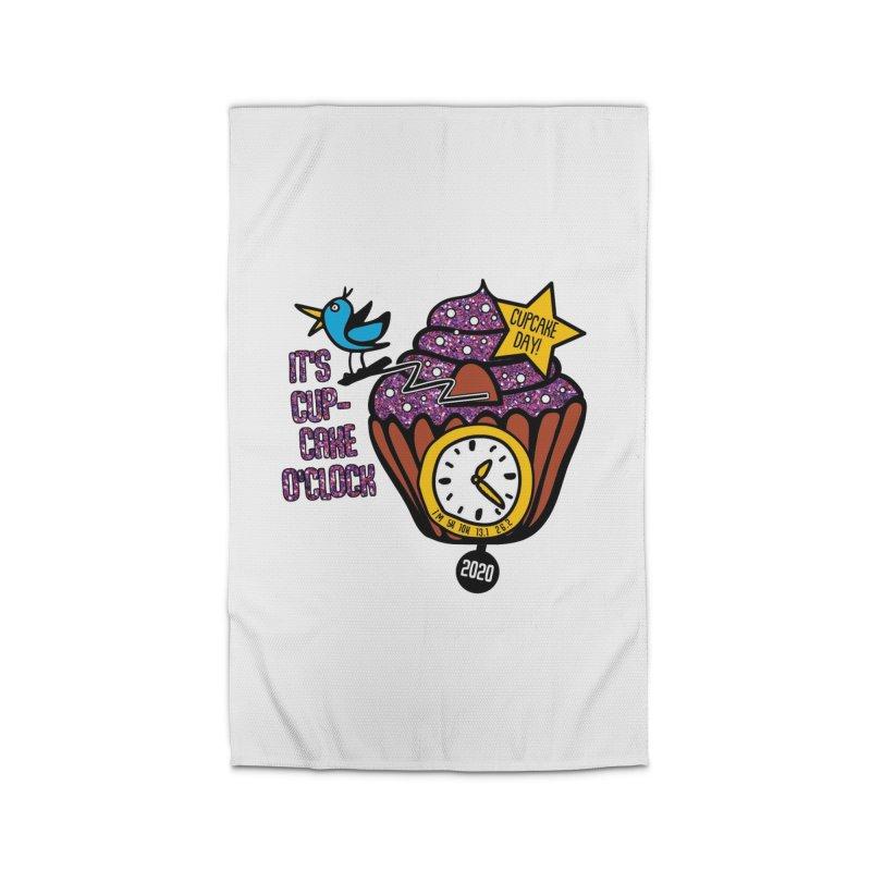 Cupcake O'Clock Home Rug by Moon Joggers's Artist Shop