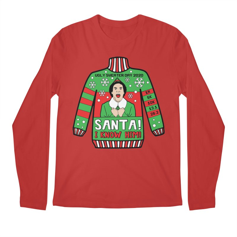 Ugly Sweater Day Men's Regular Longsleeve T-Shirt by Moon Joggers's Artist Shop