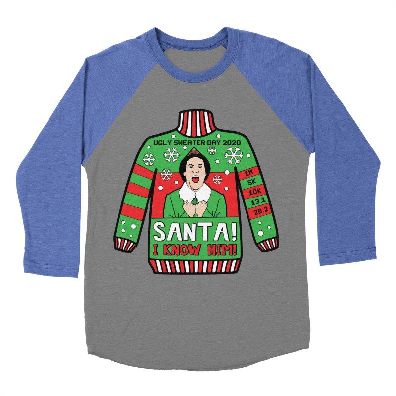 Ugly Sweater Day Women's Baseball Triblend Longsleeve T-Shirt by Moon Joggers's Artist Shop