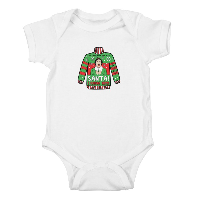 Ugly Sweater Day Kids Baby Bodysuit by Moon Joggers's Artist Shop