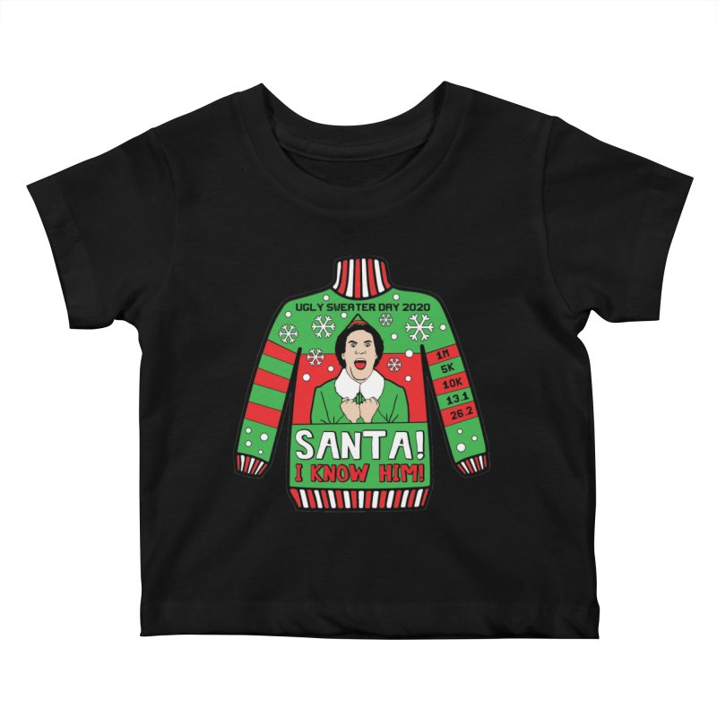 Ugly Sweater Day Kids Baby T-Shirt by Moon Joggers's Artist Shop