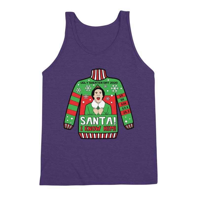 Ugly Sweater Day Men's Triblend Tank by Moon Joggers's Artist Shop