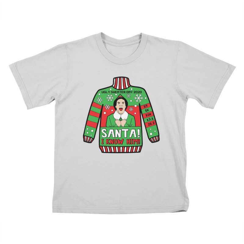 Ugly Sweater Day Kids T-Shirt by Moon Joggers's Artist Shop