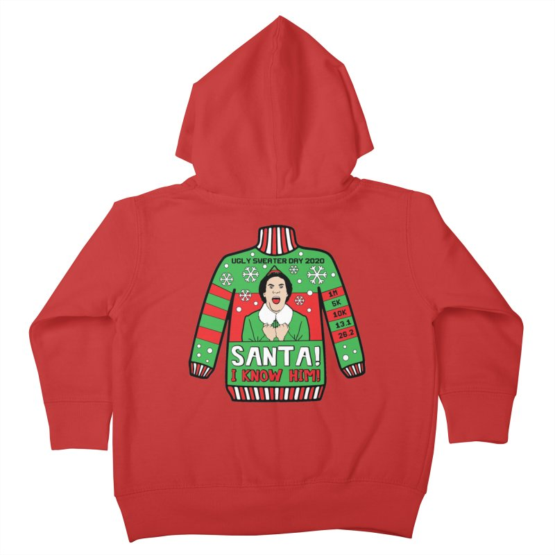 Ugly Sweater Day Kids Toddler Zip-Up Hoody by Moon Joggers's Artist Shop