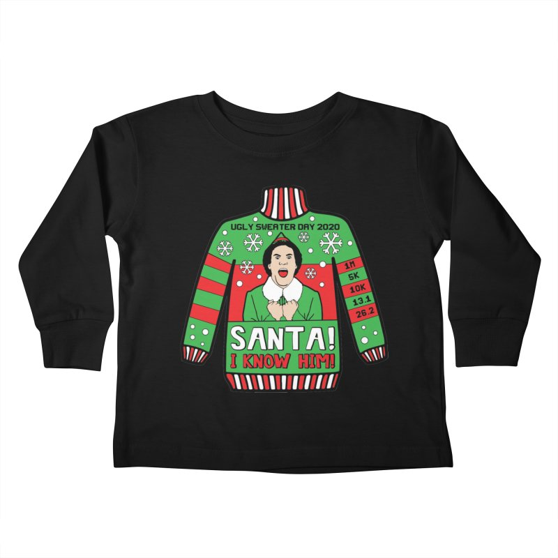 Ugly Sweater Day Kids Toddler Longsleeve T-Shirt by Moon Joggers's Artist Shop