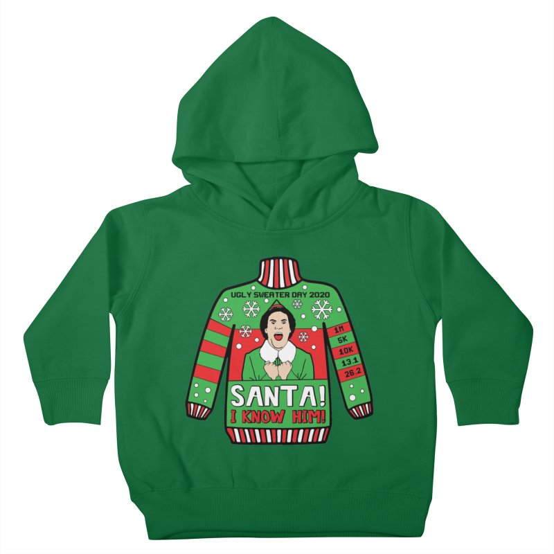Ugly Sweater Day Kids Toddler Pullover Hoody by Moon Joggers's Artist Shop