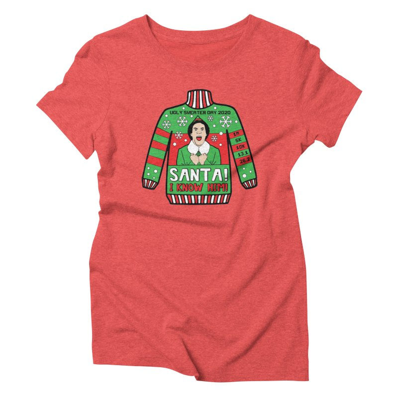 Ugly Sweater Day Women's Triblend T-Shirt by Moon Joggers's Artist Shop