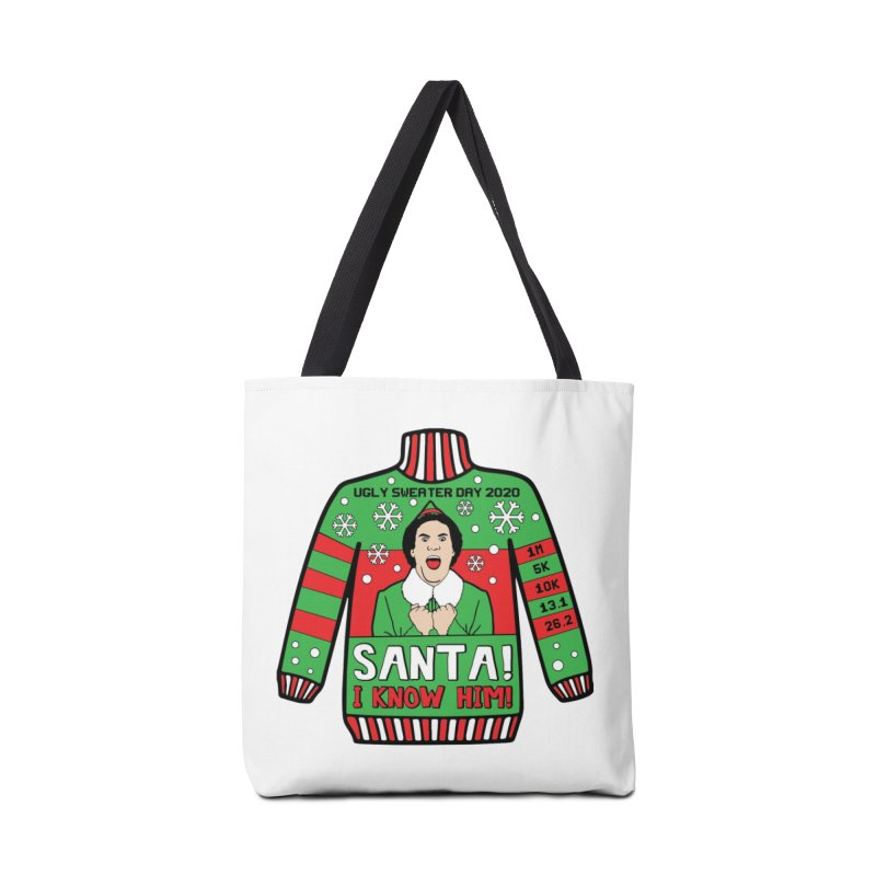 Ugly Sweater Day Accessories Tote Bag Bag by Moon Joggers's Artist Shop