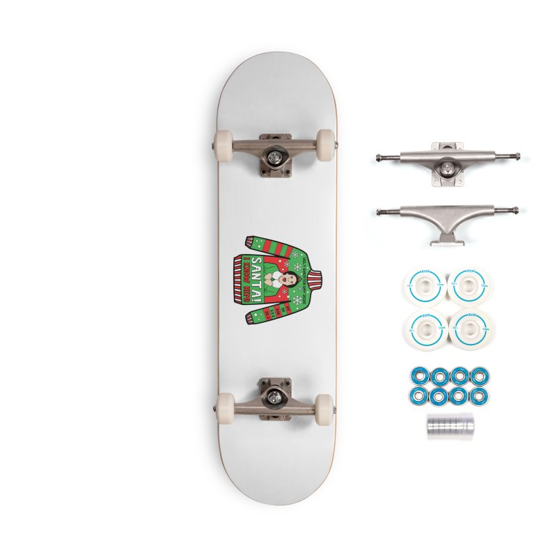 Ugly Sweater Day Accessories Complete - Basic Skateboard by Moon Joggers's Artist Shop