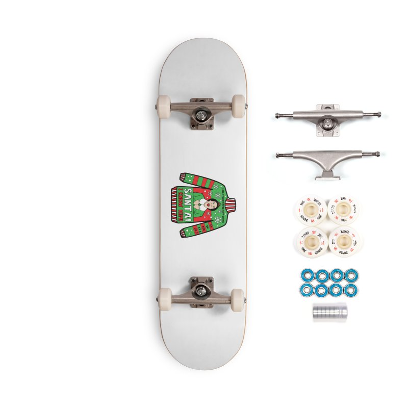 Ugly Sweater Day Accessories Complete - Premium Skateboard by Moon Joggers's Artist Shop