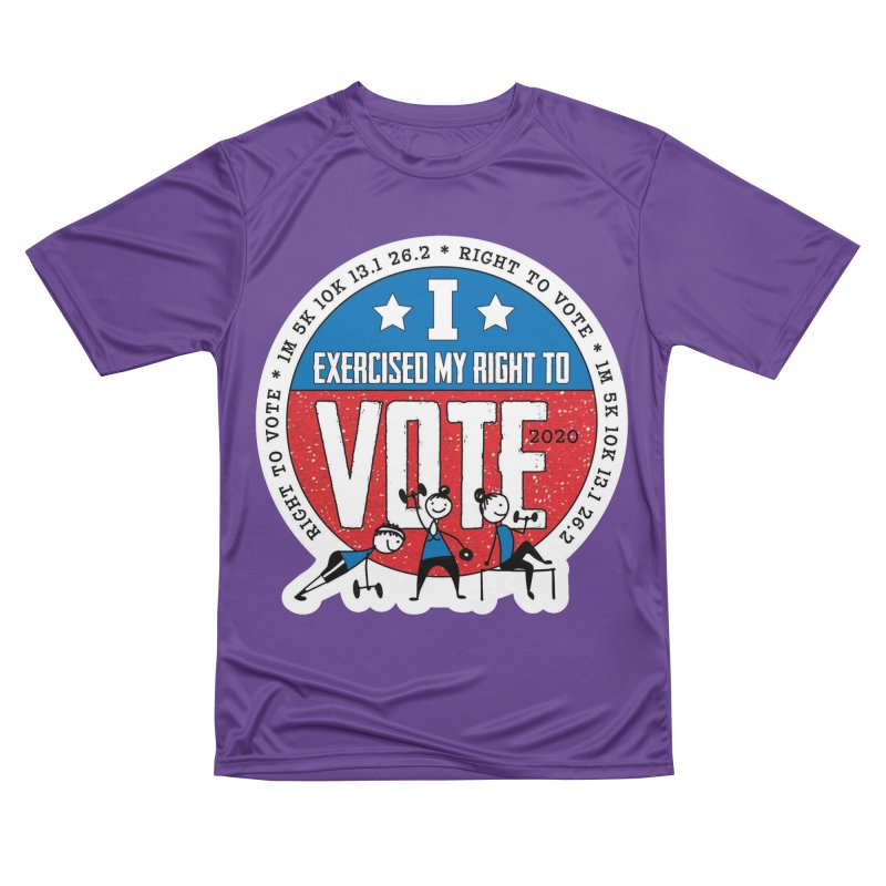 Right to Vote Women's Performance Unisex T-Shirt by Moon Joggers's Artist Shop