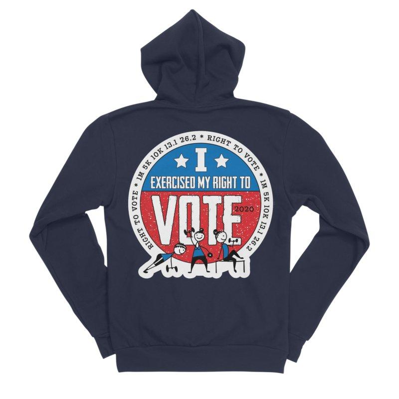 Right to Vote Women's Sponge Fleece Zip-Up Hoody by Moon Joggers's Artist Shop
