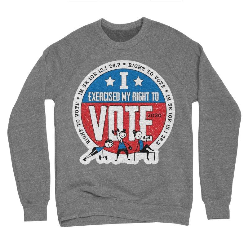 Right to Vote Women's Sponge Fleece Sweatshirt by Moon Joggers's Artist Shop