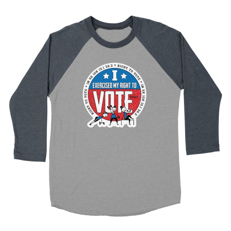 Right to Vote Men's Baseball Triblend Longsleeve T-Shirt by Moon Joggers's Artist Shop
