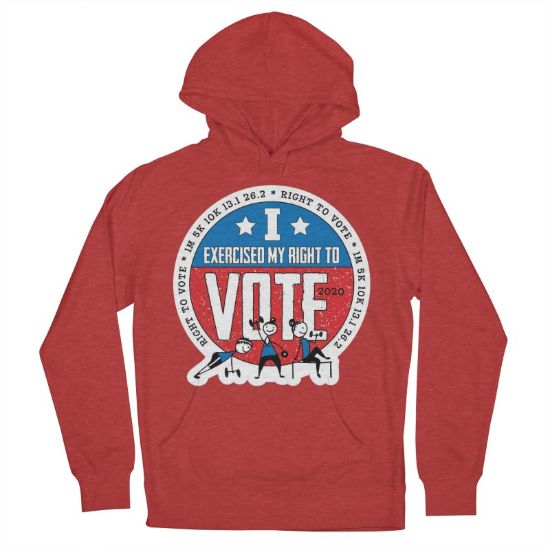 Right to Vote Women's French Terry Pullover Hoody by Moon Joggers's Artist Shop