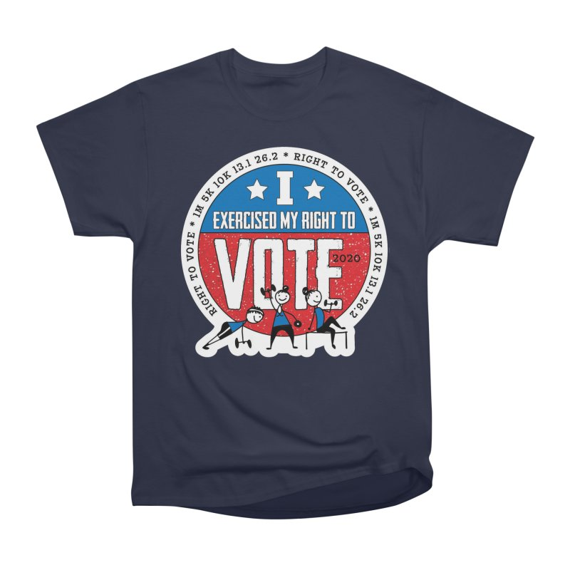 Right to Vote Women's Heavyweight Unisex T-Shirt by Moon Joggers's Artist Shop
