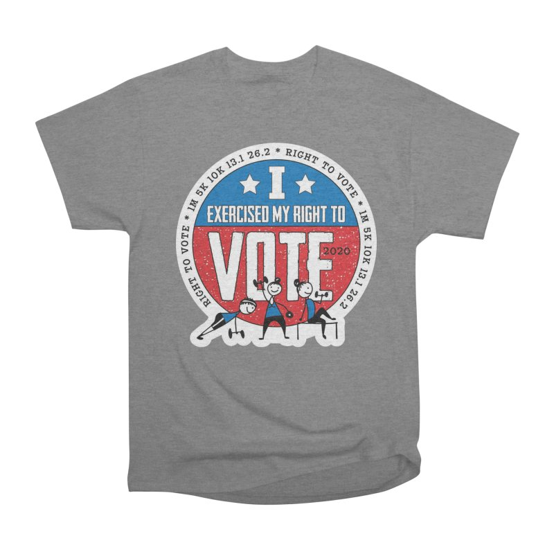 Right to Vote Men's Heavyweight T-Shirt by Moon Joggers's Artist Shop