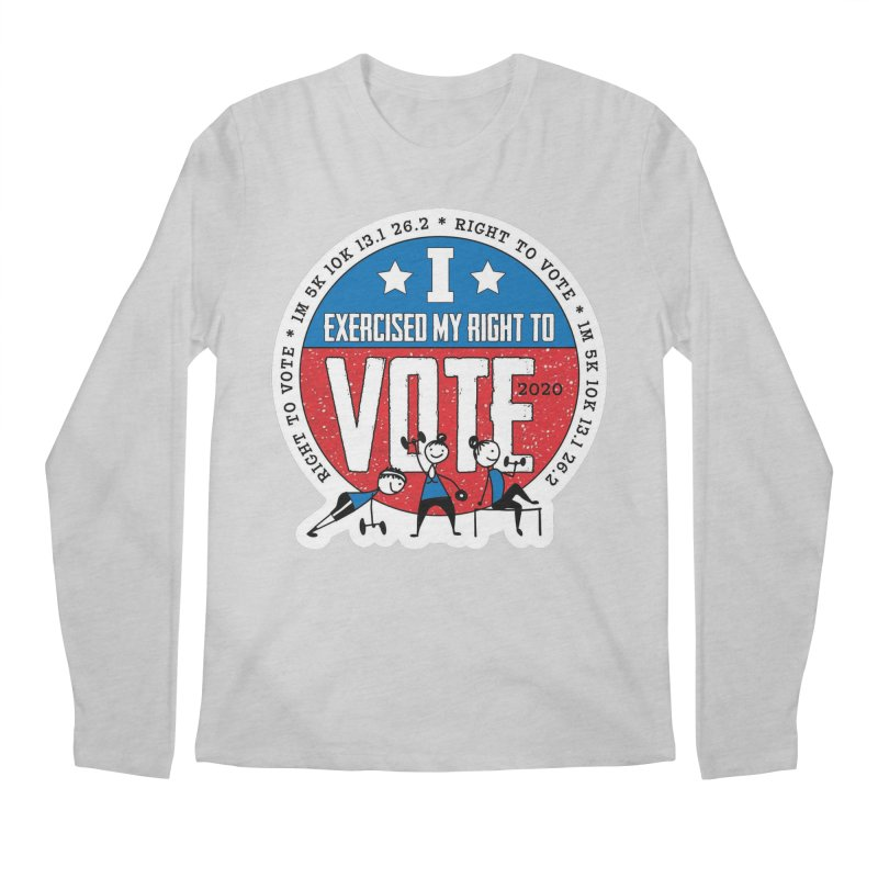 Right to Vote Men's Regular Longsleeve T-Shirt by Moon Joggers's Artist Shop