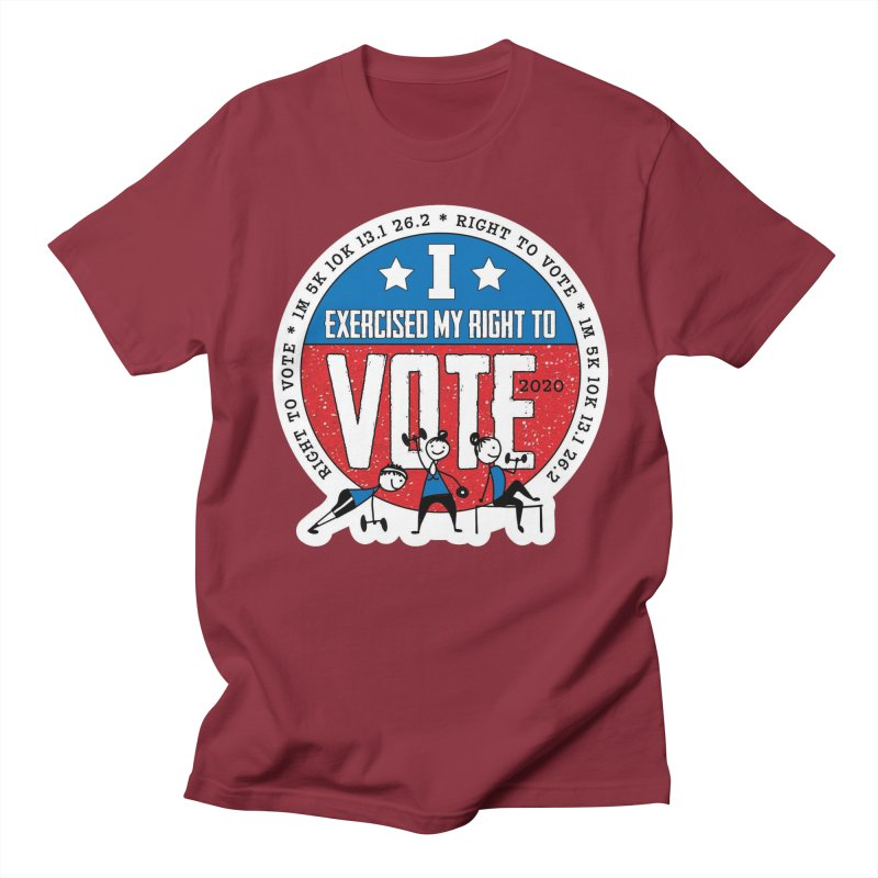 Right to Vote Men's Regular T-Shirt by Moon Joggers's Artist Shop