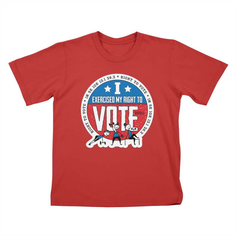 Right to Vote Kids T-Shirt by Moon Joggers's Artist Shop
