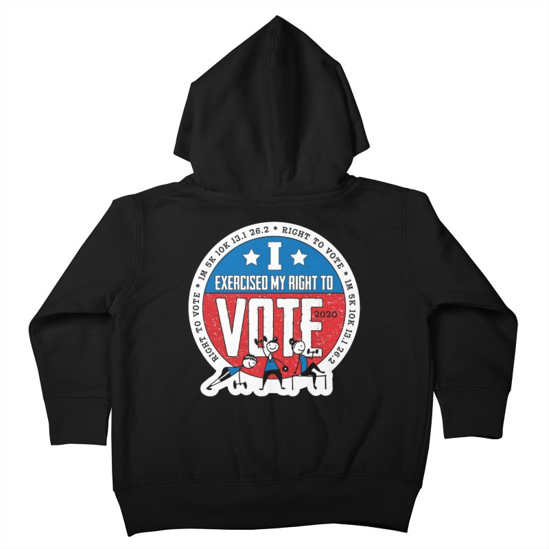 Right to Vote Kids Toddler Zip-Up Hoody by Moon Joggers's Artist Shop