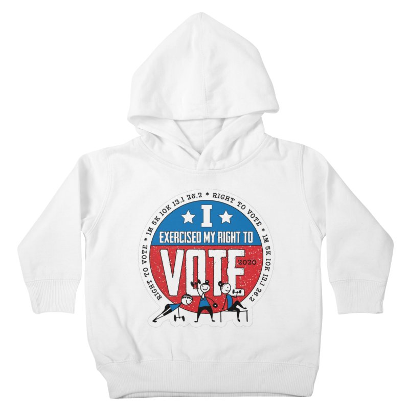 Right to Vote Kids Toddler Pullover Hoody by Moon Joggers's Artist Shop
