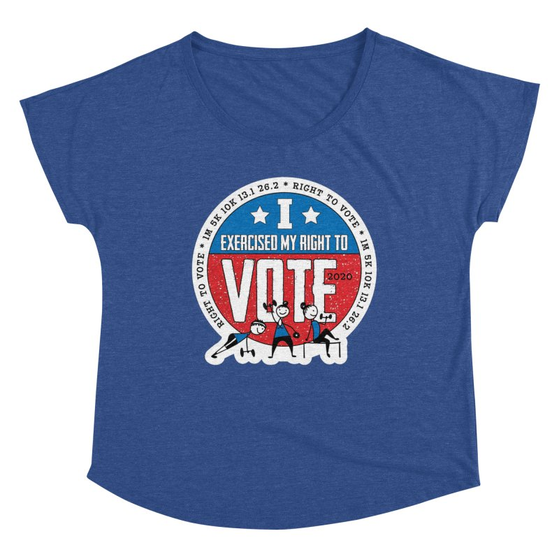 Right to Vote Women's Dolman Scoop Neck by Moon Joggers's Artist Shop