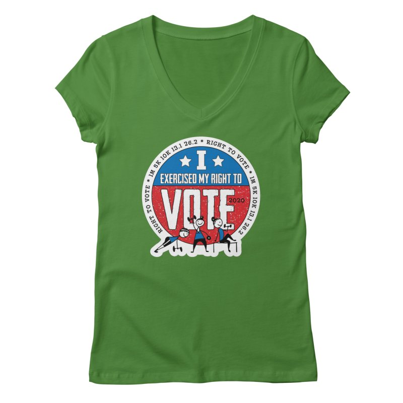 Right to Vote Women's Regular V-Neck by Moon Joggers's Artist Shop