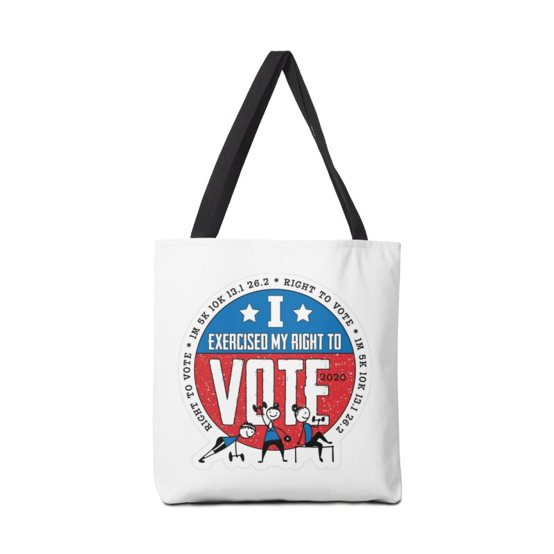 Right to Vote Accessories Tote Bag Bag by Moon Joggers's Artist Shop