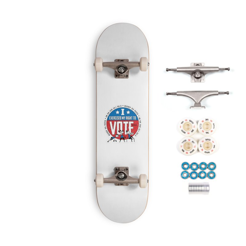 Right to Vote Accessories Complete - Premium Skateboard by Moon Joggers's Artist Shop