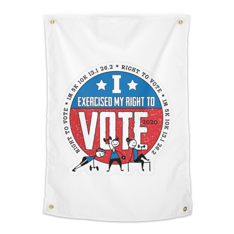 Right to Vote Home Tapestry by Moon Joggers's Artist Shop