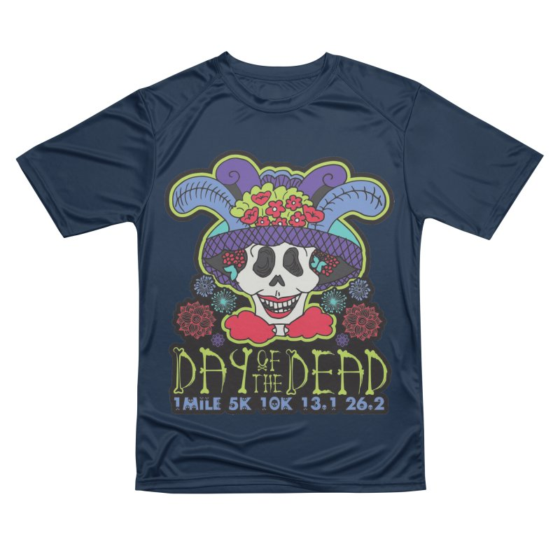 Day of the Dead Men's Performance T-Shirt by Moon Joggers's Artist Shop